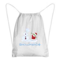 Рюкзак-мешок Snowmando