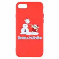 Чехол для iPhone 7 Snowmando