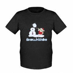 Детская футболка Snowmando