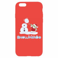 Чехол для iPhone 6/6S Snowmando
