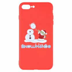 Чехол для iPhone 8 Plus Snowmando