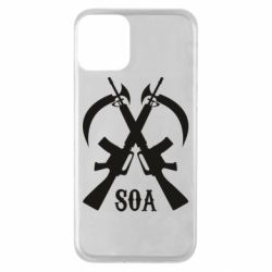 Чехол для iPhone 11 SoA weapons and scythe