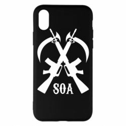 Чехол для iPhone X/Xs SoA weapons and scythe