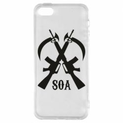 Чехол для iPhone5/5S/SE SoA weapons and scythe