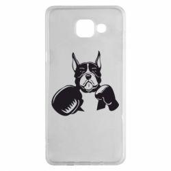 Чохол для Samsung A5 2016 Собака в боксерських рукавичках