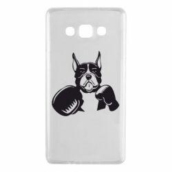 Чохол для Samsung A7 2015 Собака в боксерських рукавичках