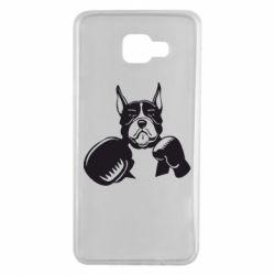 Чохол для Samsung A7 2016 Собака в боксерських рукавичках