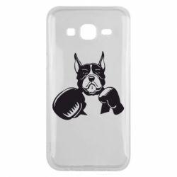 Чохол для Samsung J5 2015 Собака в боксерських рукавичках