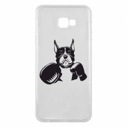 Чохол для Samsung J4 Plus 2018 Собака в боксерських рукавичках