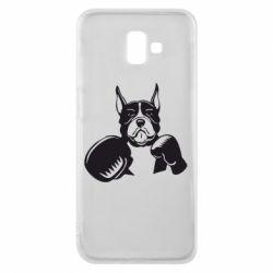 Чохол для Samsung J6 Plus 2018 Собака в боксерських рукавичках