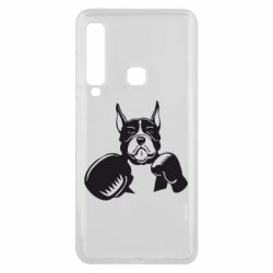 Чохол для Samsung A9 2018 Собака в боксерських рукавичках