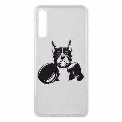 Чохол для Samsung A7 2018 Собака в боксерських рукавичках