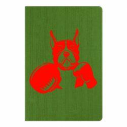 Блокнот А5 Собака в боксерських рукавичках