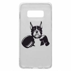 Чохол для Samsung S10e Собака в боксерських рукавичках