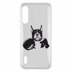 Чохол для Xiaomi Mi A3 Собака в боксерских перчатках