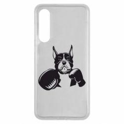 Чехол для Xiaomi Mi9 SE Собака в боксерских перчатках