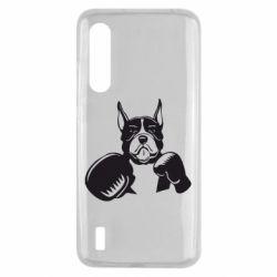 Чехол для Xiaomi Mi9 Lite Собака в боксерских перчатках