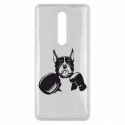 Чехол для Xiaomi Mi9T Собака в боксерских перчатках