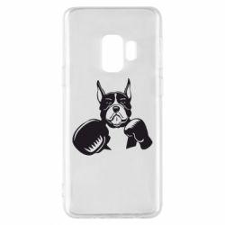 Чохол для Samsung S9 Собака в боксерських рукавичках
