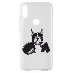 Чохол для Xiaomi Mi Play Собака в боксерських рукавичках
