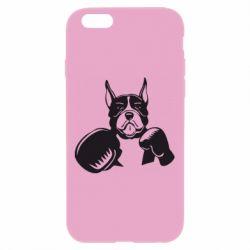 Чохол для iPhone 6 Plus/6S Plus Собака в боксерських рукавичках