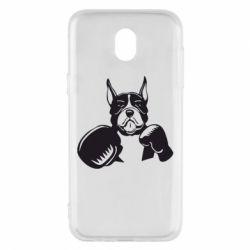 Чохол для Samsung J5 2017 Собака в боксерських рукавичках