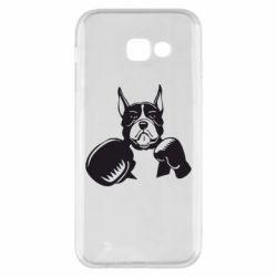 Чохол для Samsung A5 2017 Собака в боксерських рукавичках