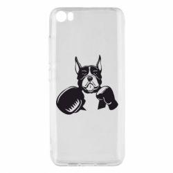 Чехол для Xiaomi Mi5/Mi5 Pro Собака в боксерских перчатках