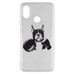 Чехол для Xiaomi Mi8 Собака в боксерских перчатках