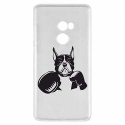Чехол для Xiaomi Mi Mix 2 Собака в боксерских перчатках