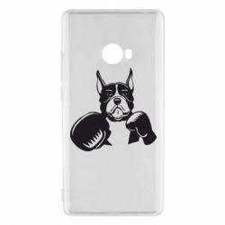 Чехол для Xiaomi Mi Note 2 Собака в боксерских перчатках