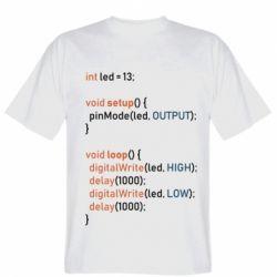 Чоловіча футболка Сode Arduino