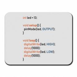 Килимок для миші Сode Arduino
