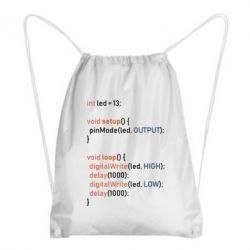 Рюкзак-мішок Сode Arduino