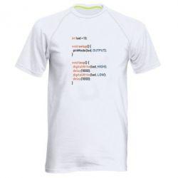 Чоловіча спортивна футболка Сode Arduino