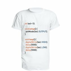 Подовжена футболка Сode Arduino