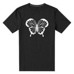 Мужская стрейчевая футболка Soft butterfly