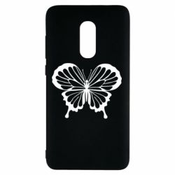 Чехол для Xiaomi Redmi Note 4 Soft butterfly
