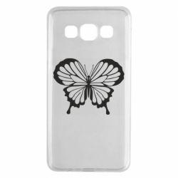 Чехол для Samsung A3 2015 Soft butterfly
