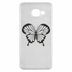 Чехол для Samsung A3 2016 Soft butterfly