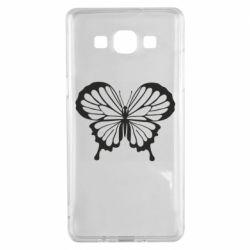 Чехол для Samsung A5 2015 Soft butterfly