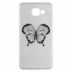 Чехол для Samsung A5 2016 Soft butterfly