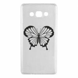Чехол для Samsung A7 2015 Soft butterfly