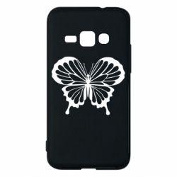 Чехол для Samsung J1 2016 Soft butterfly