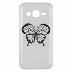 Чехол для Samsung J2 2015 Soft butterfly