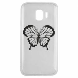 Чехол для Samsung J2 2018 Soft butterfly