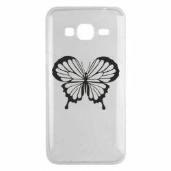 Чехол для Samsung J3 2016 Soft butterfly