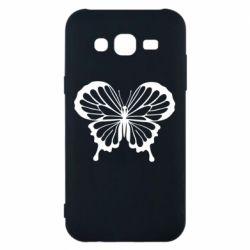 Чехол для Samsung J5 2015 Soft butterfly