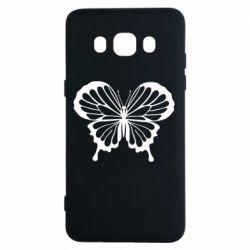 Чехол для Samsung J5 2016 Soft butterfly