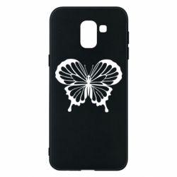 Чехол для Samsung J6 Soft butterfly